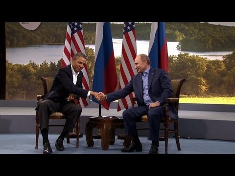 Obama, Putin clash on Syria but pledge talks