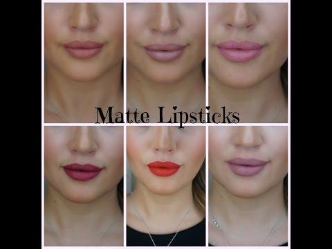 Die besten (MATTEN) Lippenstifte mit Livevorführung (auch Kylie Jenner)