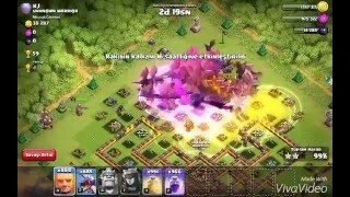 Clash of clans 999 DRAGON!!!!!!!!!!!!