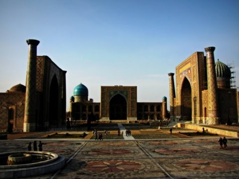 Tour of Samarkand, Uzbekistan