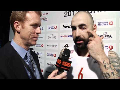 Post-game interview: Pero Antic, Olympiacos Piraeus