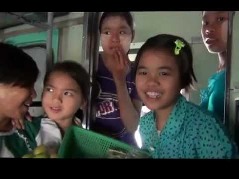 Aussie Kids Visit Mother's Home In Burma (myanmar).mp4 video