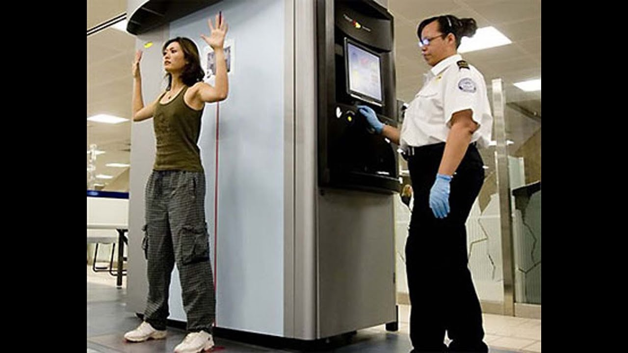 TSA Agent Full Body Sc...