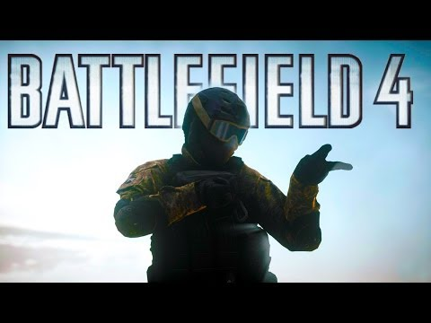Battlefield 4 - Random Moments 19 (Mid-Air Knife, EOD Battle!) klip izle