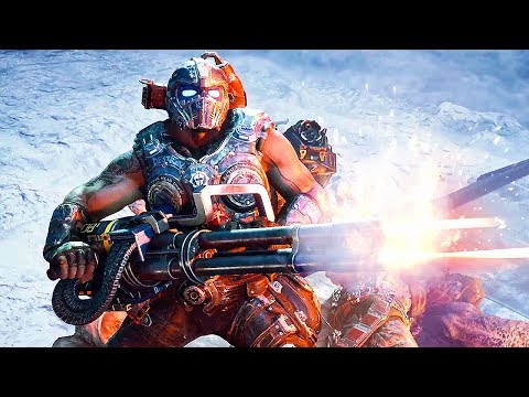 GEARS OF WAR 4 Rise of the Horde Trailer (2017) Xbox One, PC