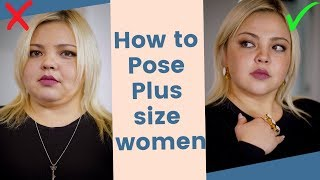 How To Look Slim in Photos/ PLUS SIZE POSING TIPS 2019