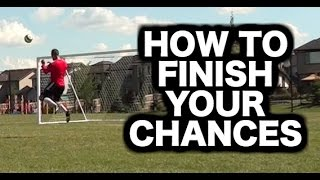 Soccer shots and finishing tutorial ► Soccer tips on how to score goals in soccer