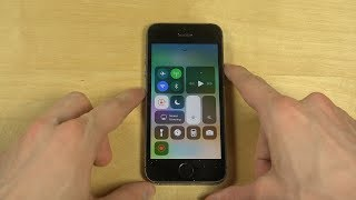 iPhone 5S iOS 11 Beta Screen Recording Test!