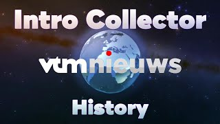 History of VTM Nieuws intros - Intro Collector History