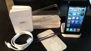 New Apple iPod touch 5th Generation Unboxing (5G 2012) and Giveaway
