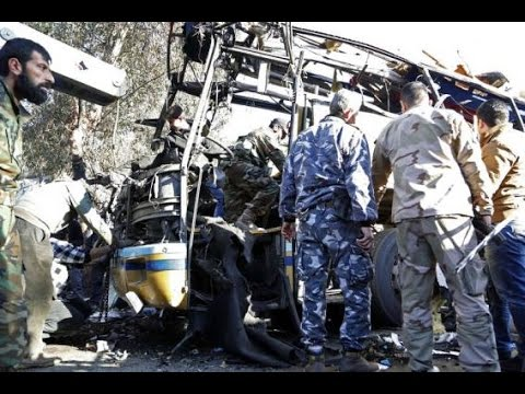 Damascus Bus Bomb Blast Kills Four: Breaking News