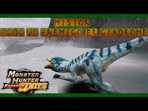 Monster Hunter Freedom Unite - Ep.1 - Todo un enemigo: el Giadrome