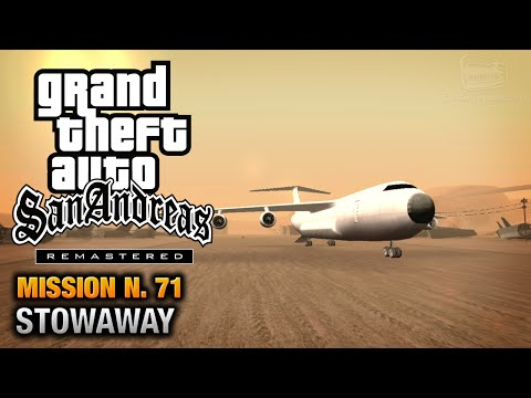 GTA San Andreas Remastered Mission #71 Stowaway Xbox 360