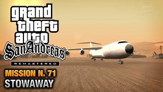 GTA San Andreas Remastered - Mission #71 - Stowaway (Xbox 360 / PS3)