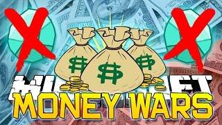 NO DIAMONDS ALLOWED IN MINECRAFT! Money Wars #27 Epic Mini-Game