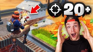 MEER DAN 20 KILLS IN FORTNITE!!