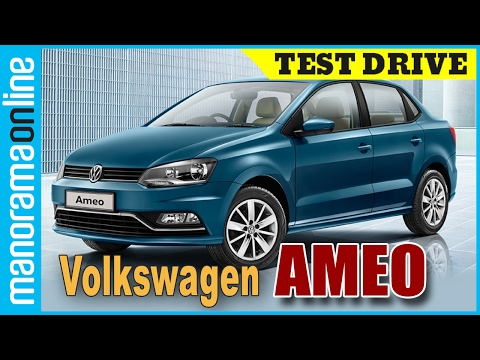 Volkswagen Ameo | Test Drive Review | Malayalam | Manorama Online