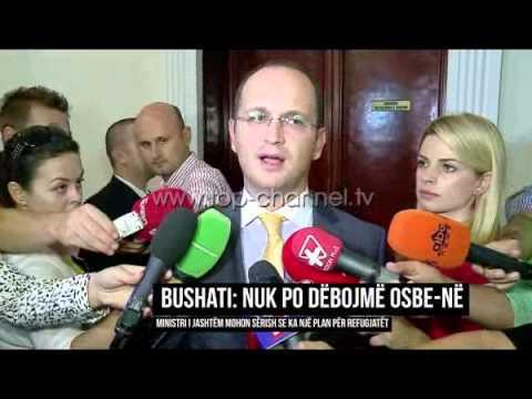 Bushati: Nuk po e dëbojmë OSBE-në - Top Channel Albania - News - Lajme
