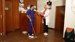 Professional Hospital Cleaner (New Movie) Part 1 - 2019 Latest Nigerian Nollywood Movie