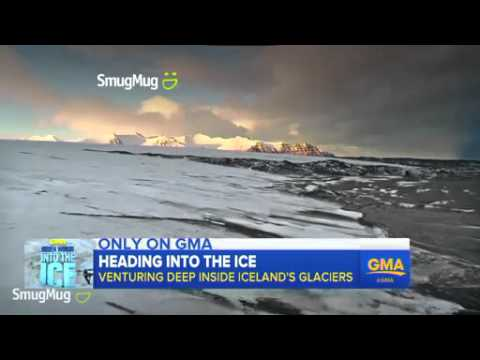 'GMA' Goes Beneath the Ice in Iceland