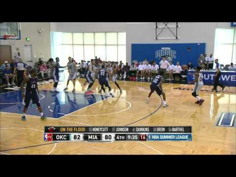 NBA Summer League: Oklahoma City Thunder vs Miami Heat