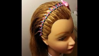 Encintado Diadema Para Niñas - Ribbon Headband for Girls