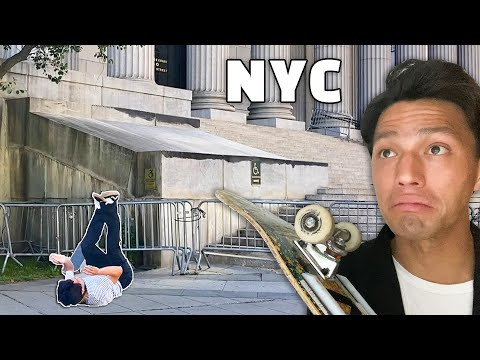 I Tried Skating NYC's Most Dangerous Spot