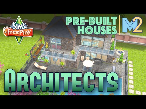Sims FreePlay - Architect Homes Review