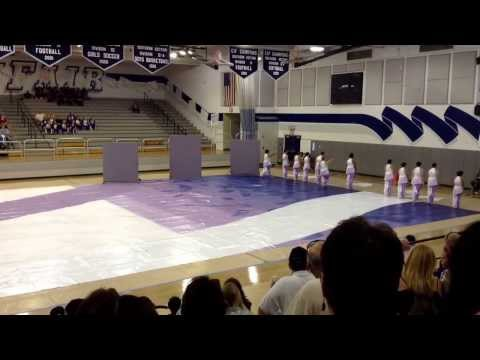 Millikan High School Winterguard Perfromance