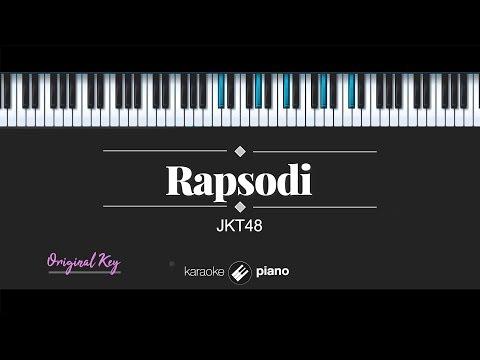 Download  Rapsodi - JKT48 KARAOKE PIANO Gratis, download lagu terbaru