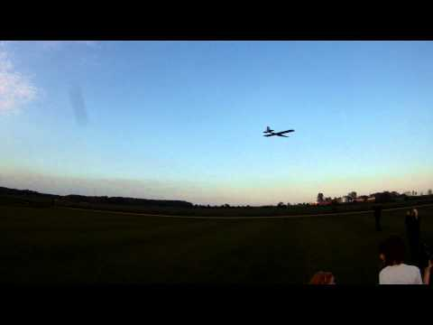 Spectacular HUGE RC plane. 16 square meter wing SLOW MFK FALKEN
