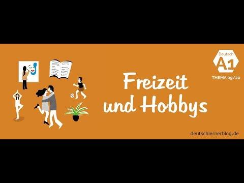 Deutschkurs – Deutsch A1 nach Themen - Thema 09/20: Freizeit und Hobbys