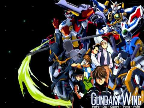 Gundam Wing - Rhythm Emotion W  Lyrics video