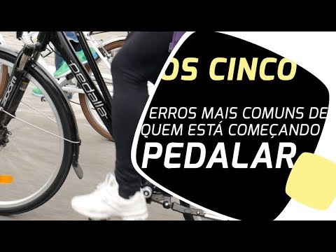 Os 5 erros mais comuns de quem está começando pedalar Pedaleria