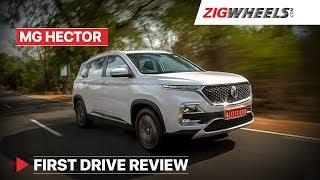 MG Hector Price starts at Rs 12.18 Lakh - See Detailed Review | Rivals Tata Harrier & Jeep Compass