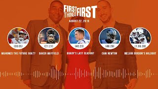 First Things First Audio Podcast(8.22.19) Cris Carter, Nick Wright, Jenna Wolfe | FIRST THINGS FIRST