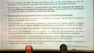 Jornada sobre l'aplicació de la reforma legal dels consorcis - Joan Perdigó