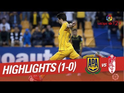 Resumen de AD Alcorcón vs Granada CF (1-0)
