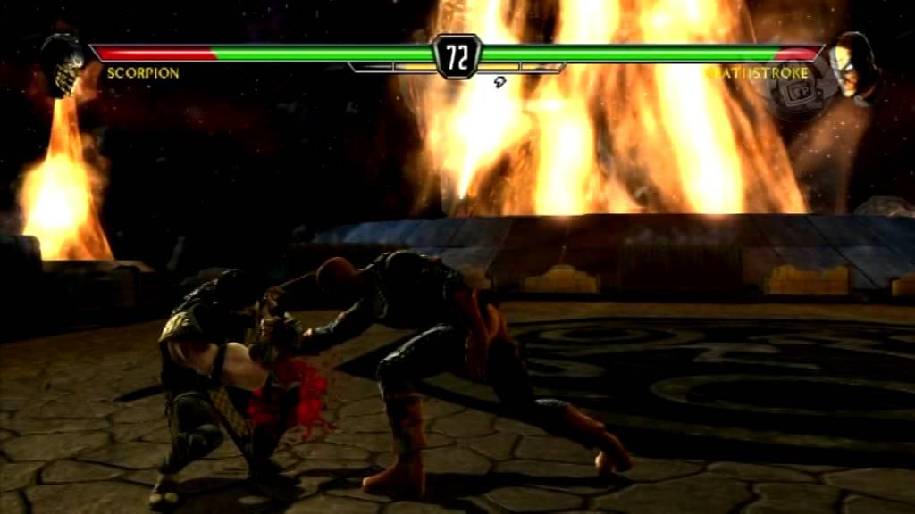 Турнир по Mortal Kombat vs. DC Universe  - часть 2