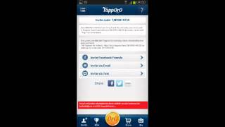 "Earn more with Tapporo! for android and iOS  My invite code  TAPAT148633""  YouTube"