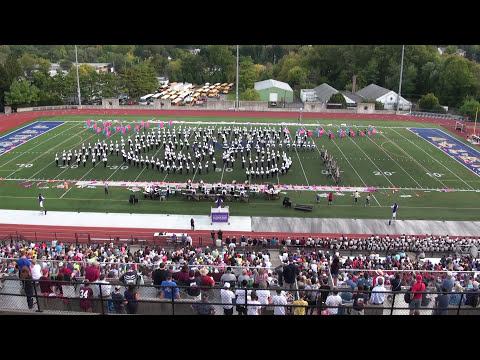 West Chester University Marching Band CMBF in Allentown 2014