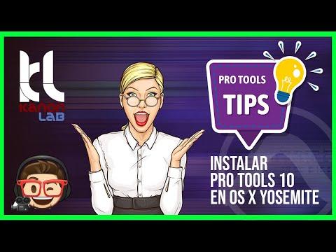 Como instalar Pro Tools 10 en OS X Yosemite