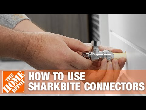 Using Sharkbite Connectors - The Home Depot