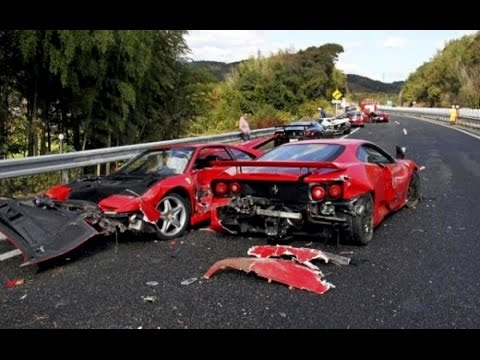 Accident on the road Compilation