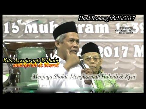 KH Marzuki Mustamar ; 06/10/2017 ; Pesan penting keAswajaan & ke NUan di Haul Tuban