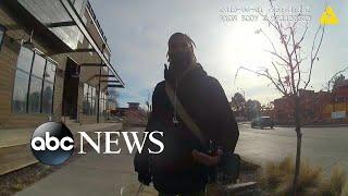 नई bodycam कॉलेज के छात्र के साथ पुलिस का आमना-सामना चलता