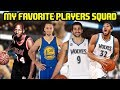 FAVORITE PLAYERS SQUAD! INSANE COMEBACK! NBA 2K17 MYTEAM ONLINE GAMEPLAY -