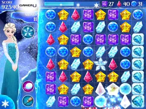 Frozen Free Fall - How to Pass Level 72