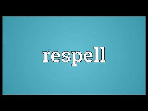 Header of respell