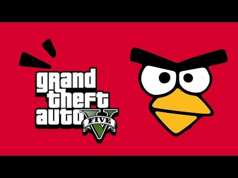 ANGRY BIRDS in GTA 5 - GTA 5 Gameplay